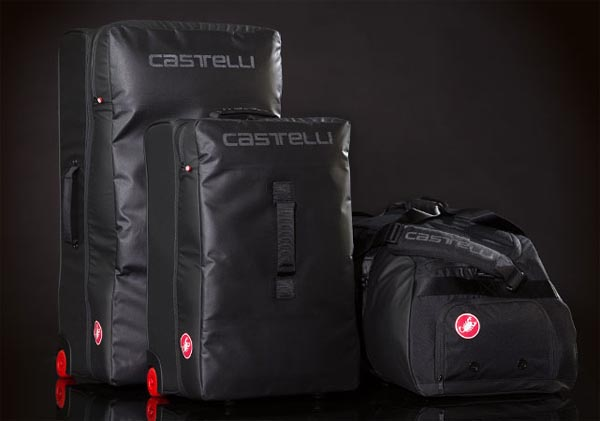 BLACK Castelli PRO RACE RAIN BAG Cycling Race Travel Luggage